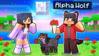 Dating The ALPHA Wolf In Minecraft!